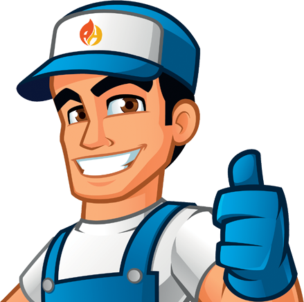 Abbey Heating Limited Cartoon Engineer