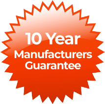 10 Year Manufacturers Guarantee on New Boiler Installation and Boiler Repairs